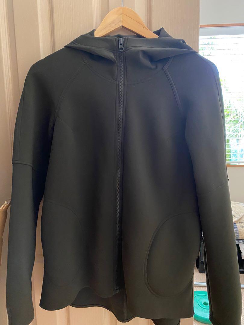 LULULEMON khaki hoodie Nz size 8-12