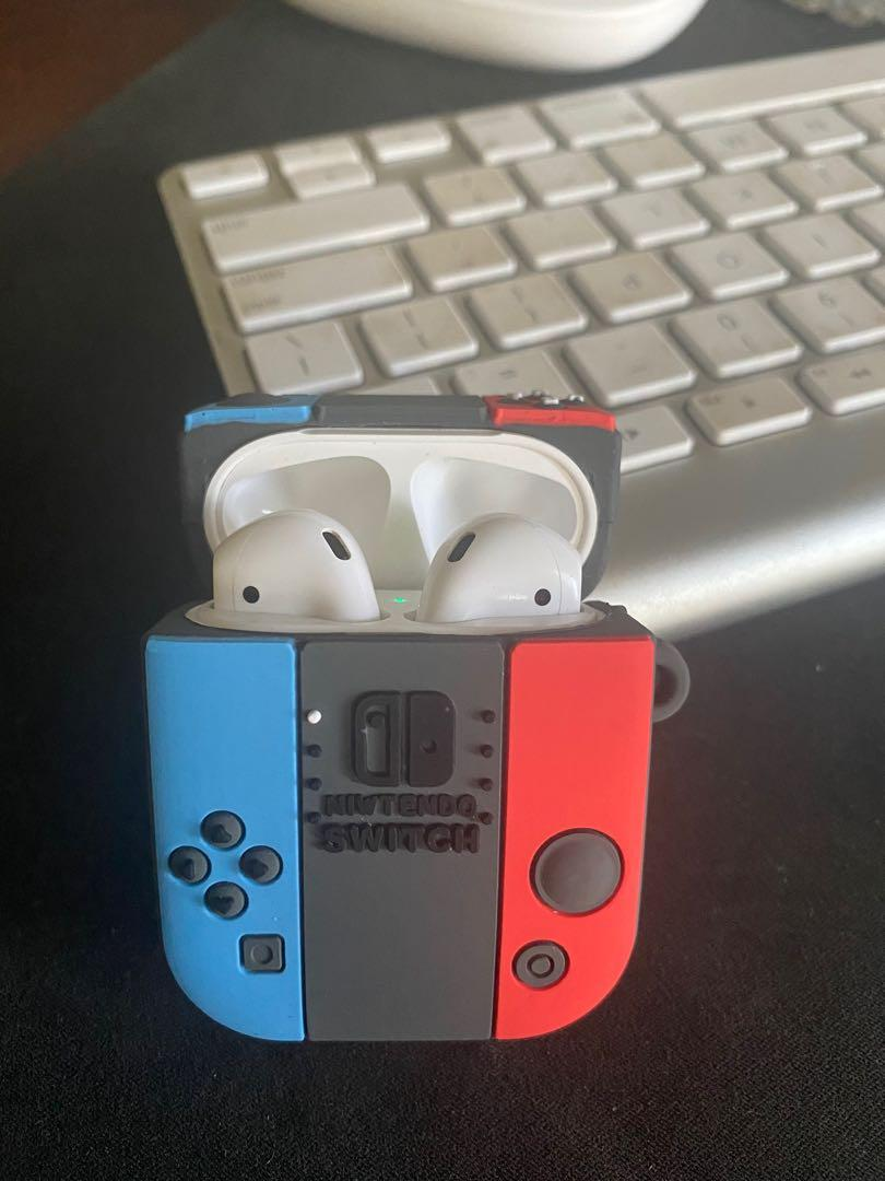 NEW Airpod 1/2 Nintendo Switch CASE