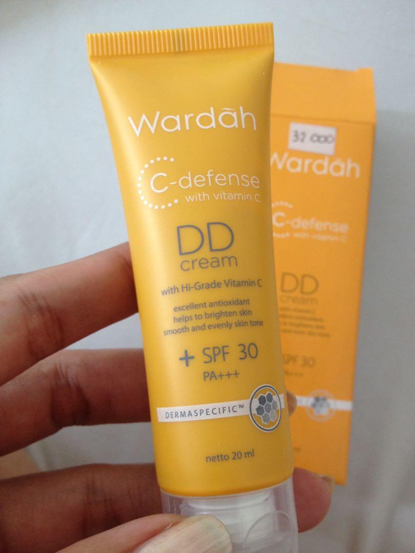 (NEW) Wardah DD Cream C Defense SPF 30 PA+++
