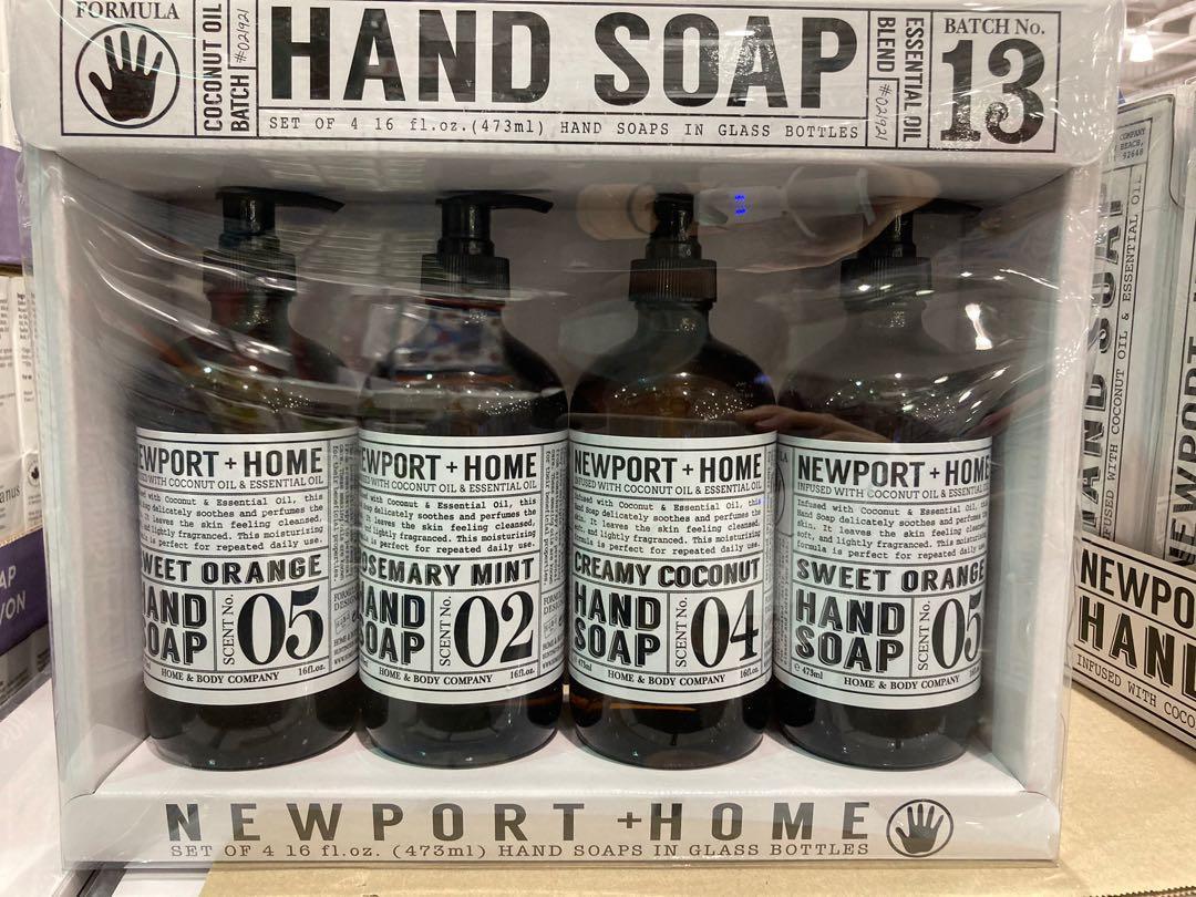Newport Home 洗手液 473毫升4入-吉兒好市多COSTCO代購