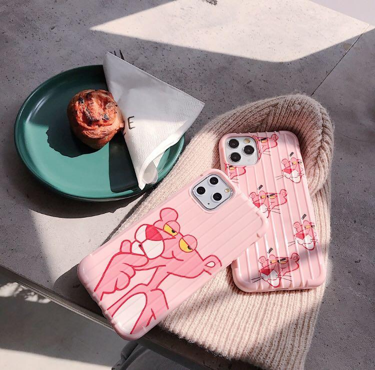 READY CASE PINK PANTHER OPPO,IPHONE