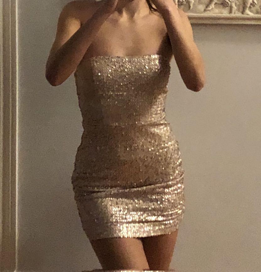 Rosegold dress