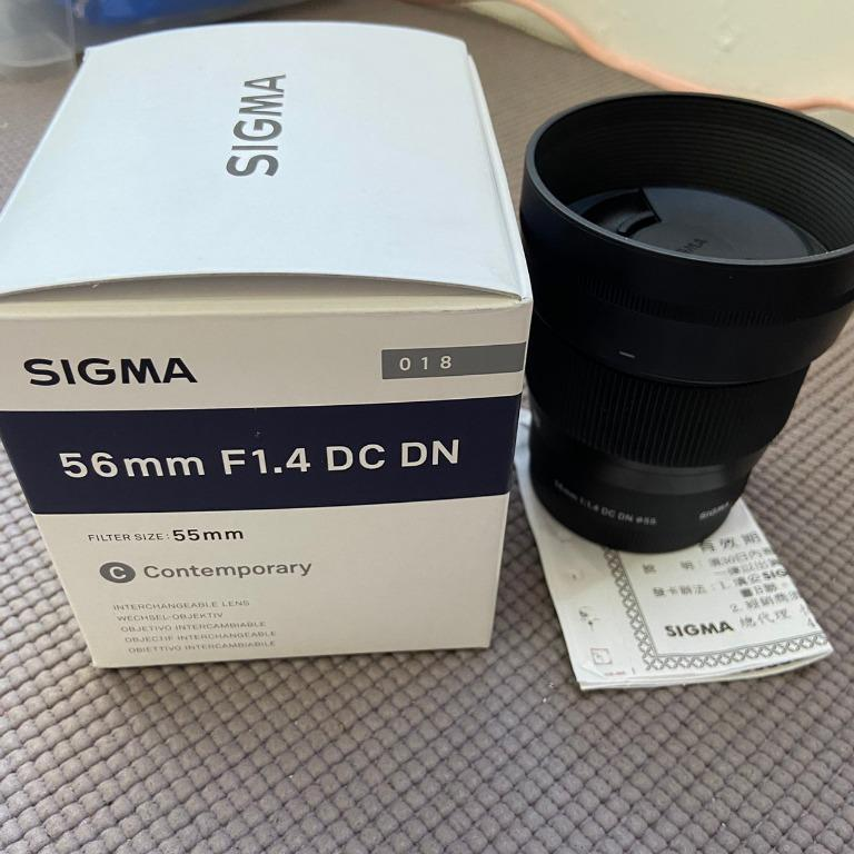 Sigma 56mm F1.4 DC DN for Sony (公)