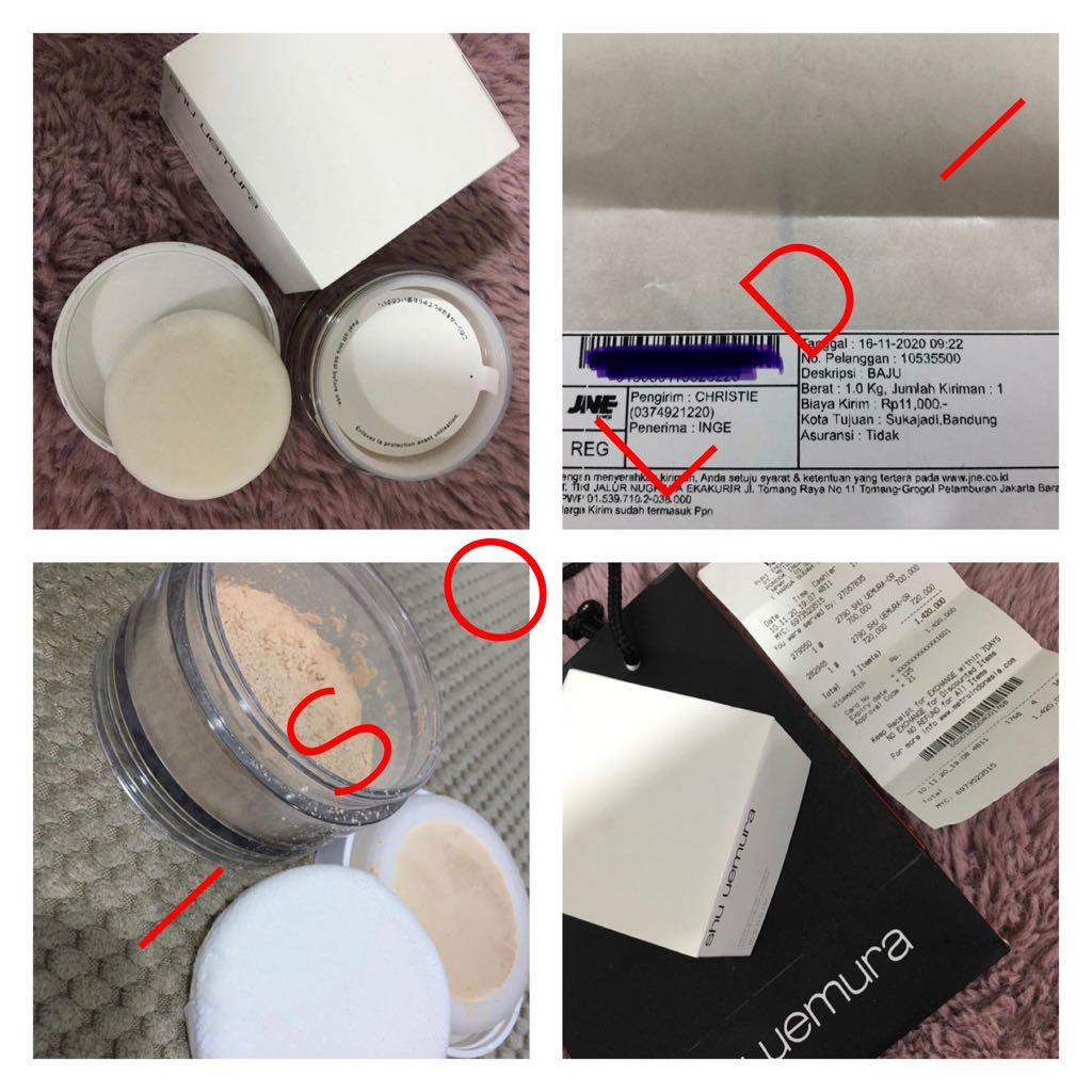 Sold Items - All Face Powder Shu Uemura