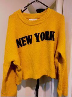 Supre Mustard Knit Sweater