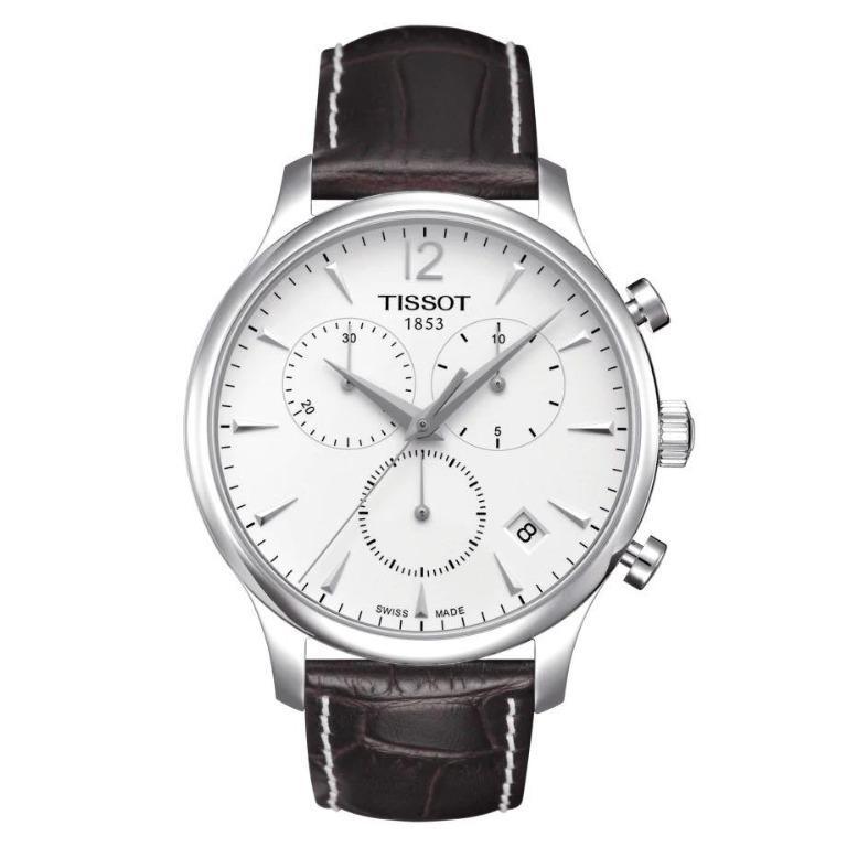 T063.617.36.037.00 瑞士天梭表設計師系列多功能計時腕錶