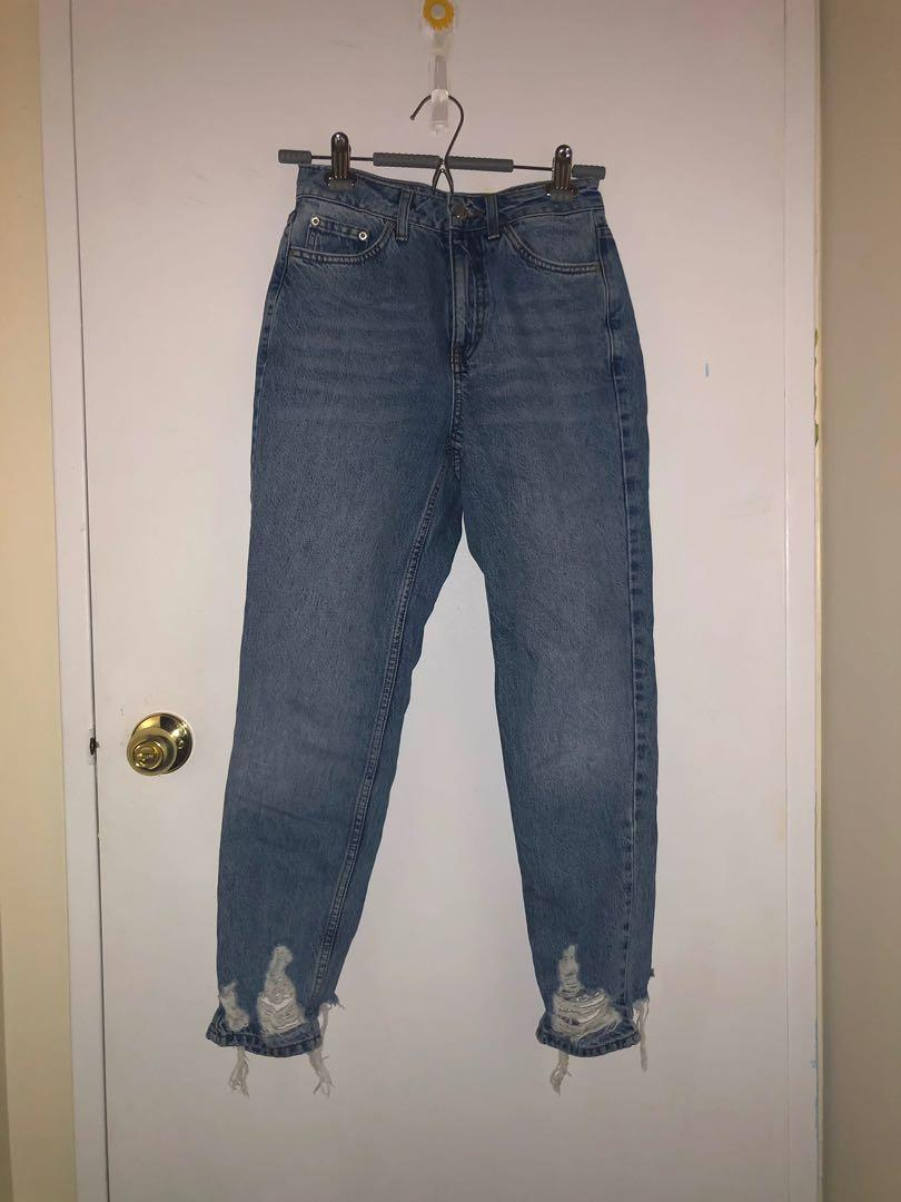 Topshop Mom Jeans 26W