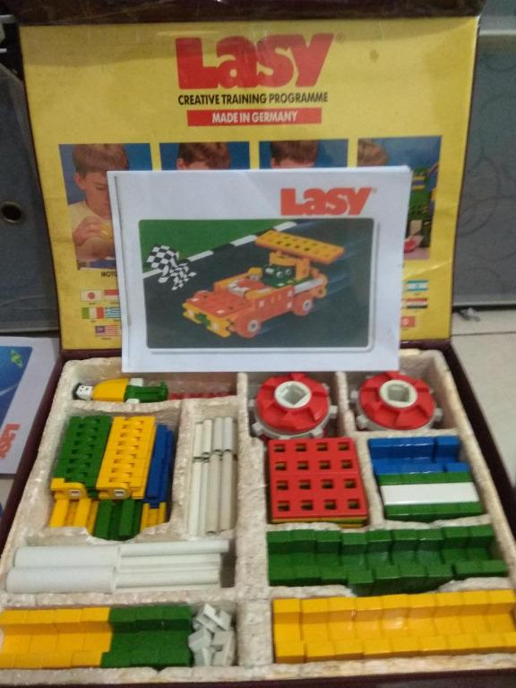 Vintage Lasy L800 Educational Toys Made in Germany Minus Condition (Bukan Lepao / Mobis)