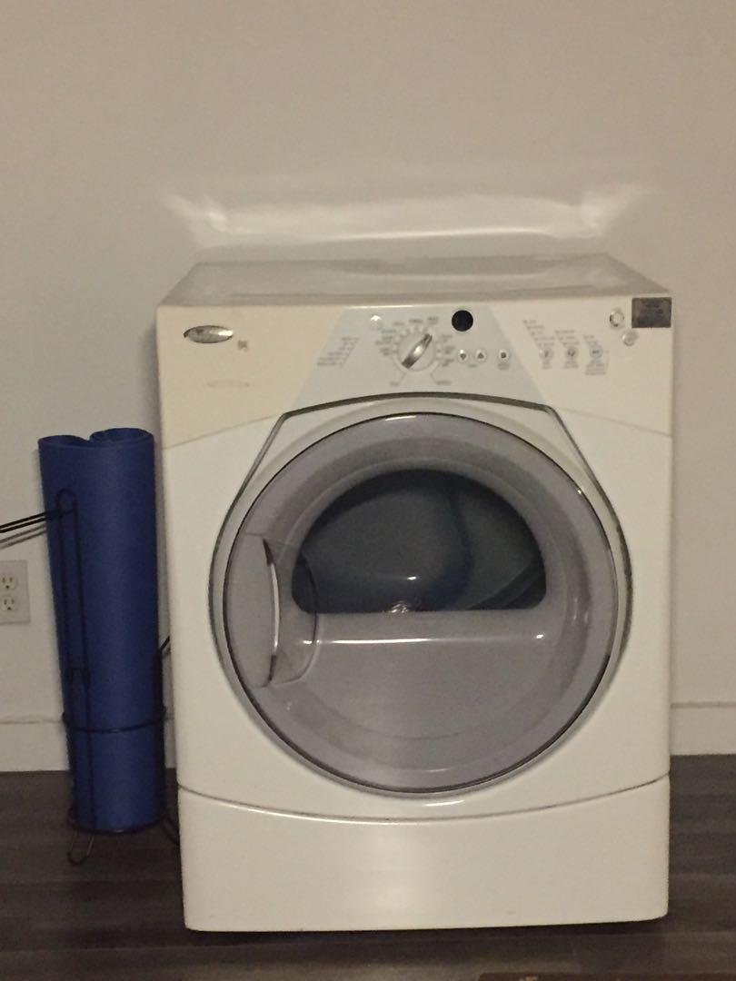 Washing machine whirlpool duel sport