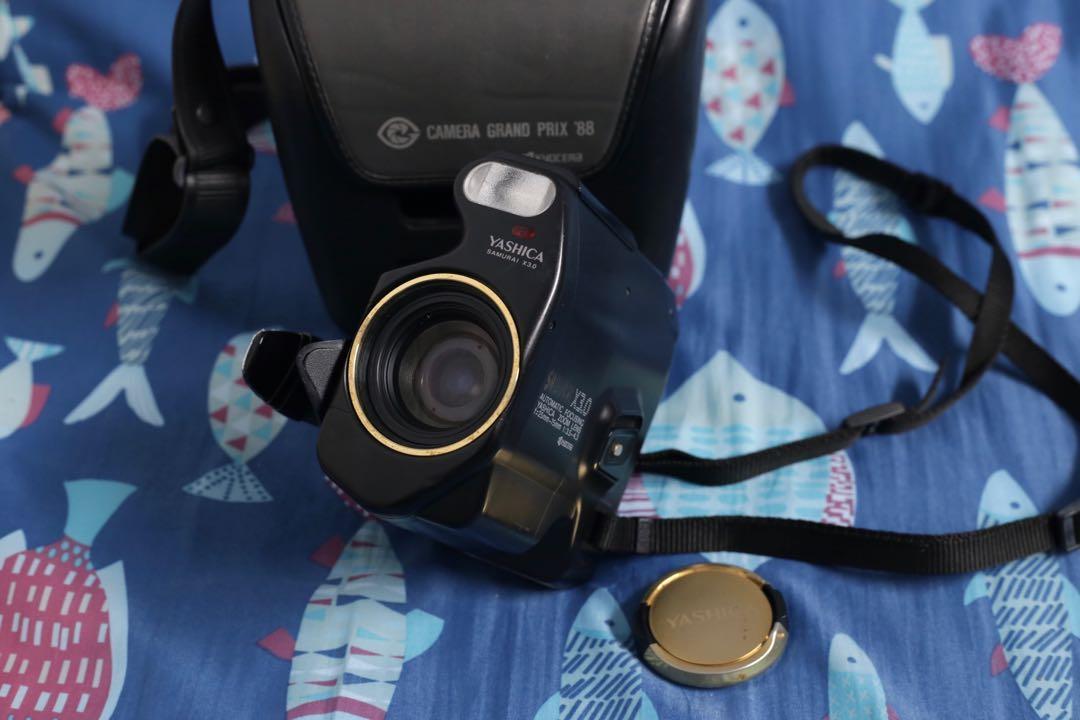Yashica Samurai X3.0 Gold 半格底片相機 25-75mm f3.5-4.8(京瓷)KYOCERA 附底片、電池、原廠背帶、相機包 半格機可拍72張