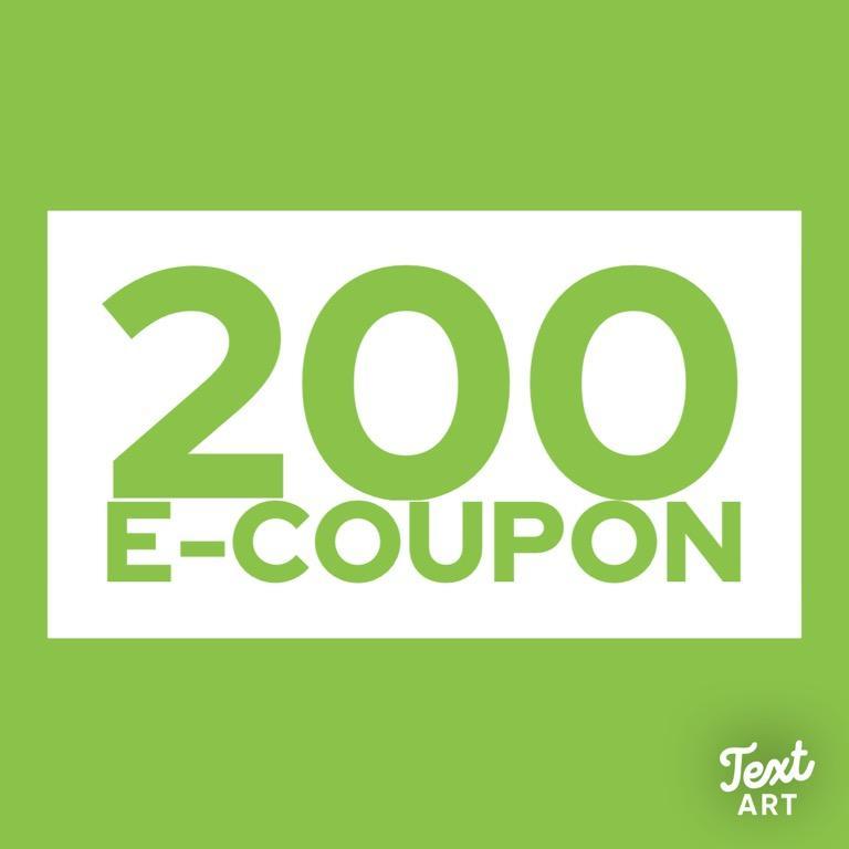 200元E-Coupon #博客來 #折價券 #E-Coupon #免費代買 #自行付款 #剁手價