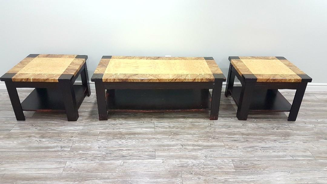 3 Piece Set of Cofee Table