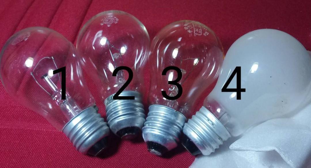 旭光透明,亞東白色燈泡購物贈品