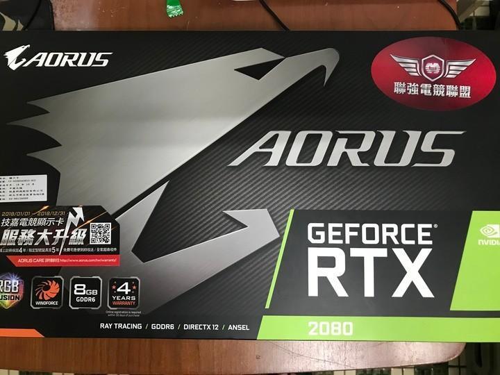 AORUS GeForce RTX™ 2080 8G