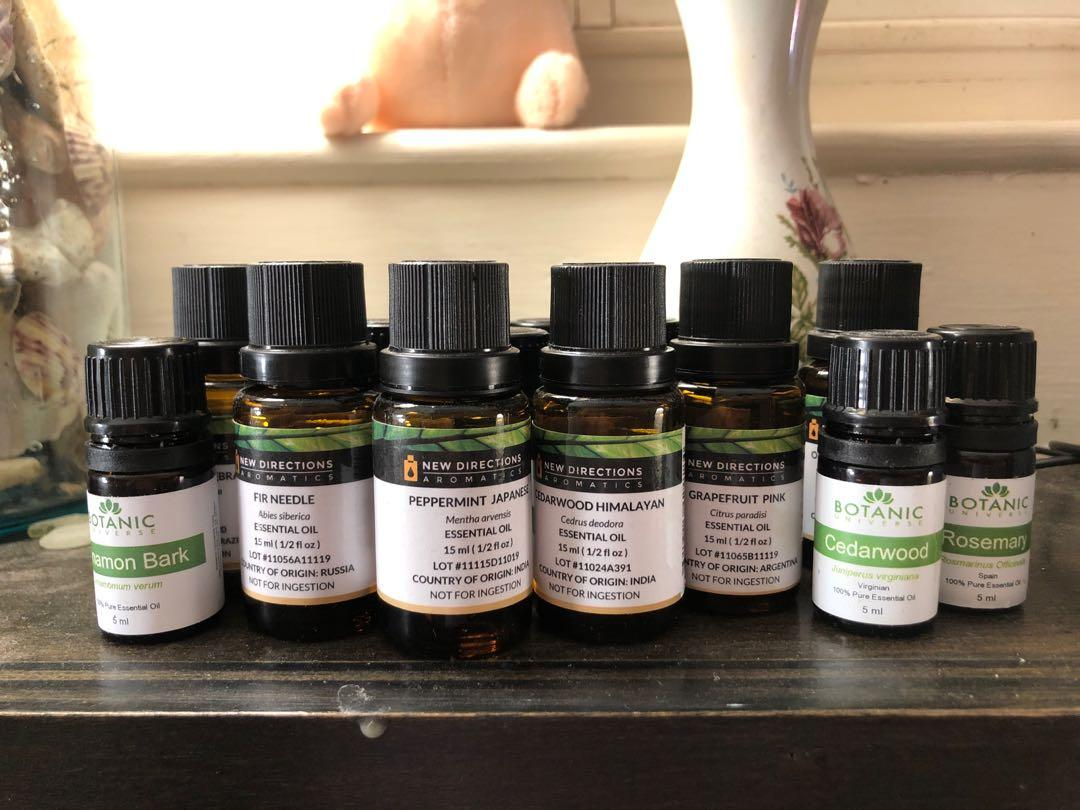Assortment of 17 Essential Oils