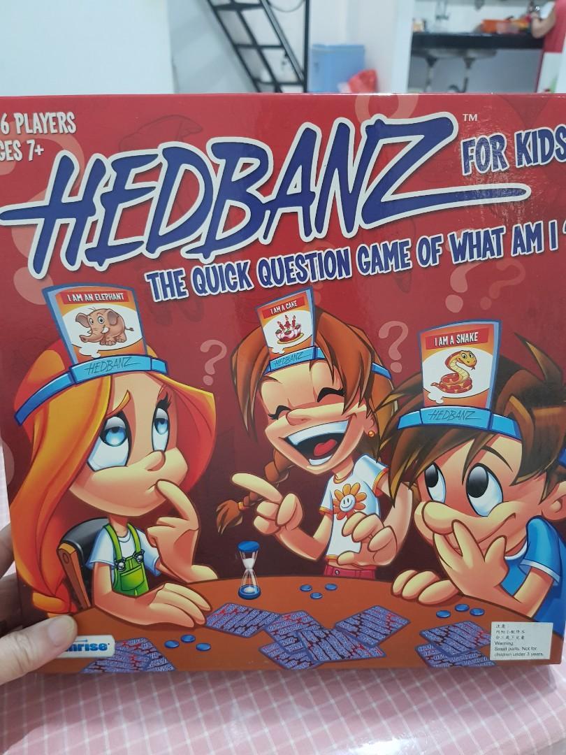 Board game Hedbanz, kondisi mulus, beli di Amerika