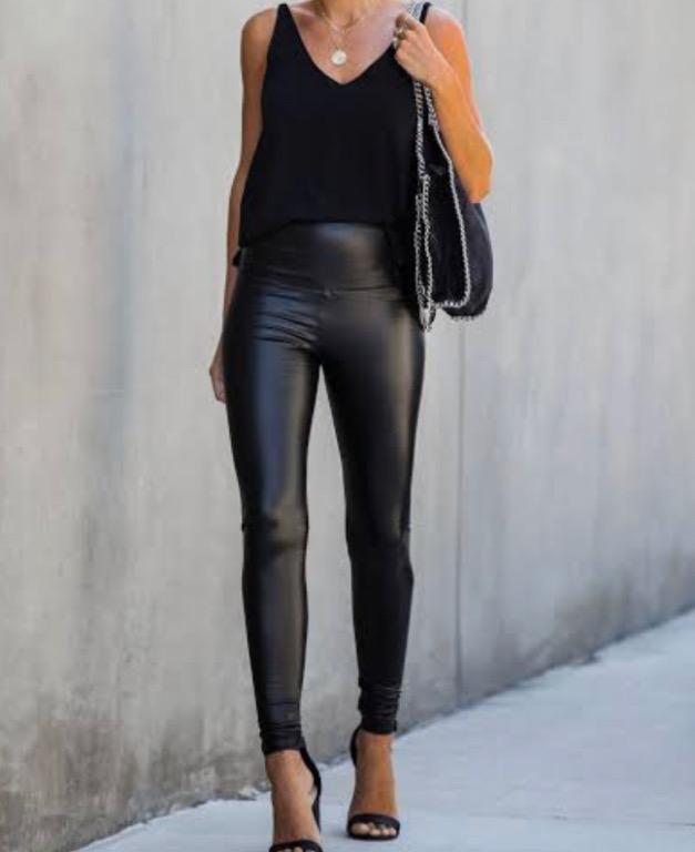 Brand new leather leggings