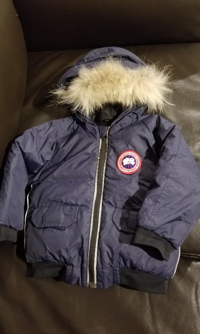 CANADA GOOSE boy jacket