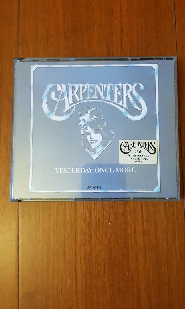 木匠兄妹Carpenters 25週年紀念專輯CD for 2
