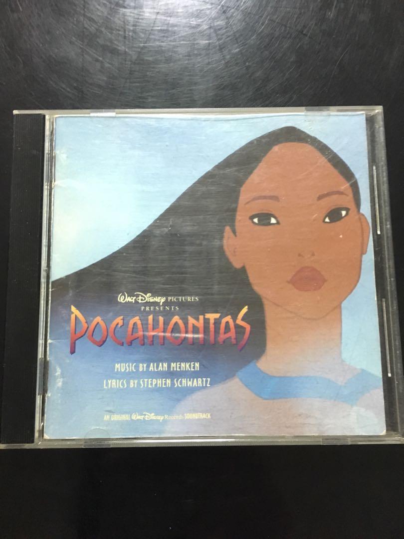迪士尼風中奇緣電影原聲帶CD