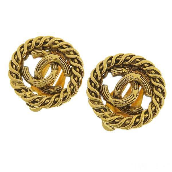 [保證真品]Chanel 香奈兒圈圈耳環