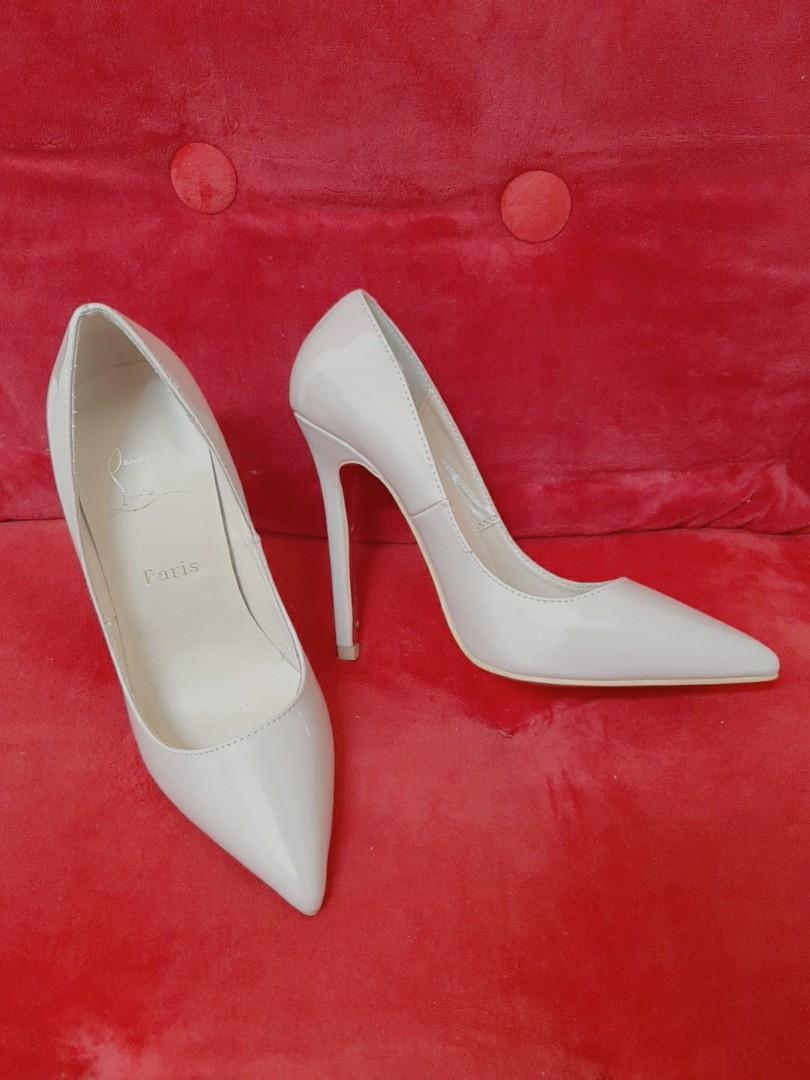 Christian Louboutin 明星紅毯最愛的高跟鞋/紅底高跟/尺碼 35 跟高約11cm