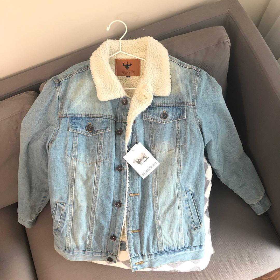 Denim Winter Jacket (size-L)