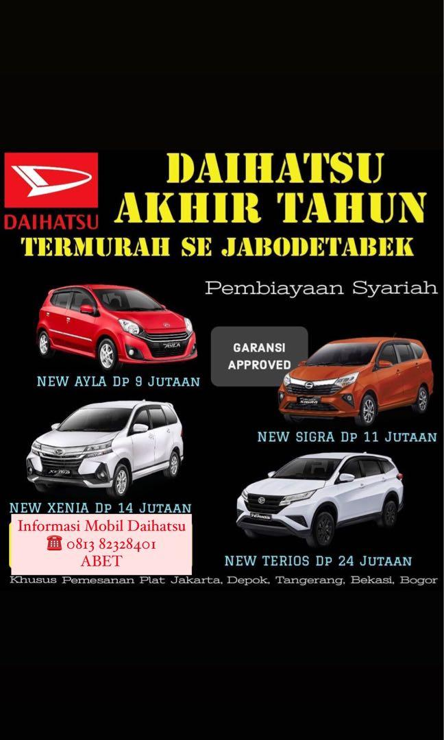 DP RINGAN Daihatsu Luxio mulai 16 jutaan. Daihatsu Fatmawati