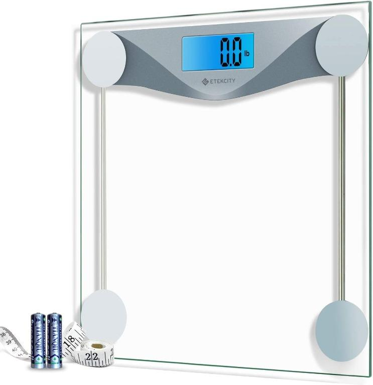 180KG//100G High Strength Toughened Glass Electronic Weighting Scale Transparant
