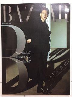 Exo Baekhyun Bazaar Magazine
