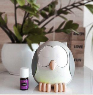 Feather The Owl Diffuser with 5ml lavender