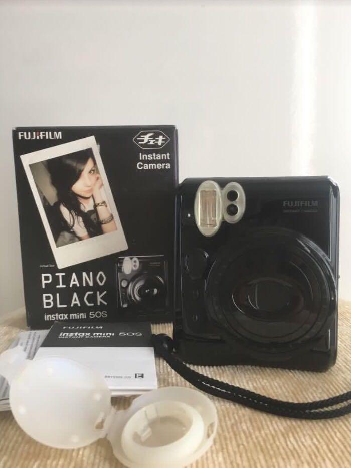 Fujifilm Piano Black mulus like NEW