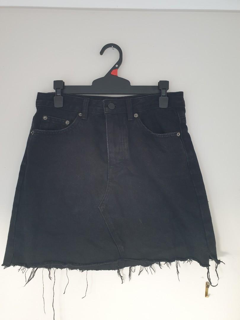 Glassons Denim Skirt - 8
