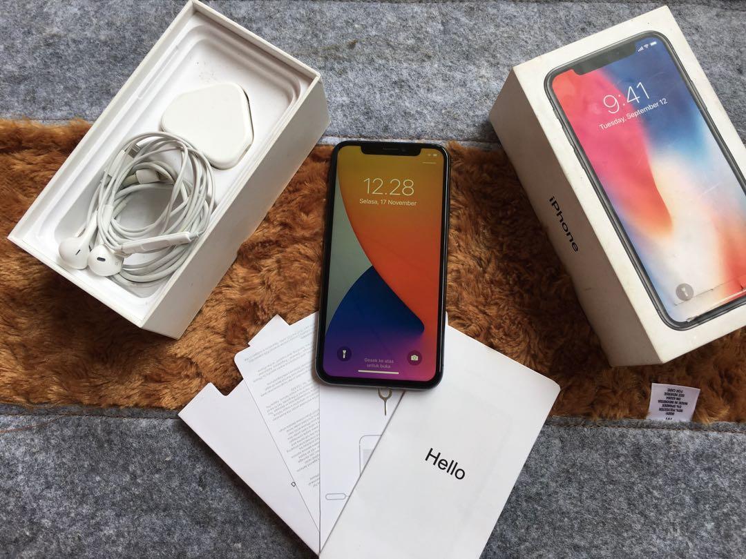 Iphone X 256gb Garansi aktif