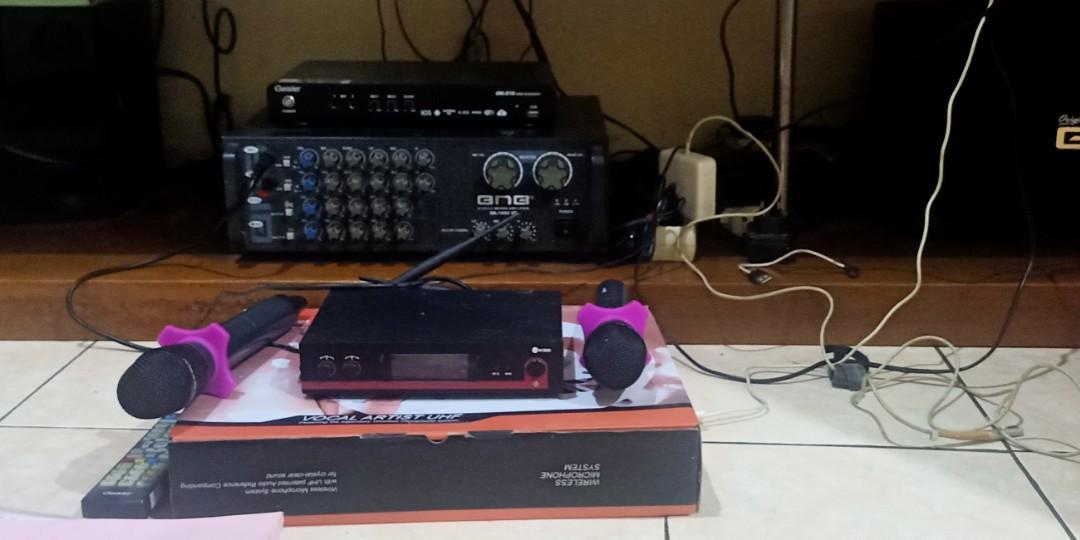 Karaoke Player Geisler with Audio Speaker BMB