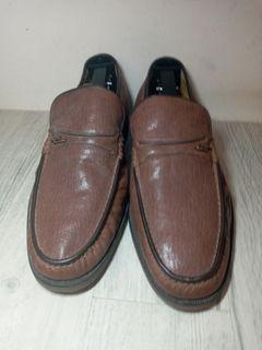 Kinloch Anderson brown leather shoes