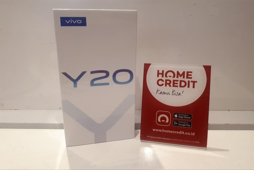 Kredit Dp 10% Vivo Y20 Ram 3/64GB free admin 99k