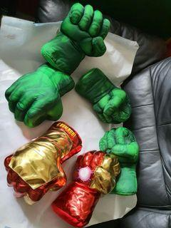 😝Fun Large Hulk Fists / Ironman Repulsors (1 piece for $16, 2 pieces for $30)