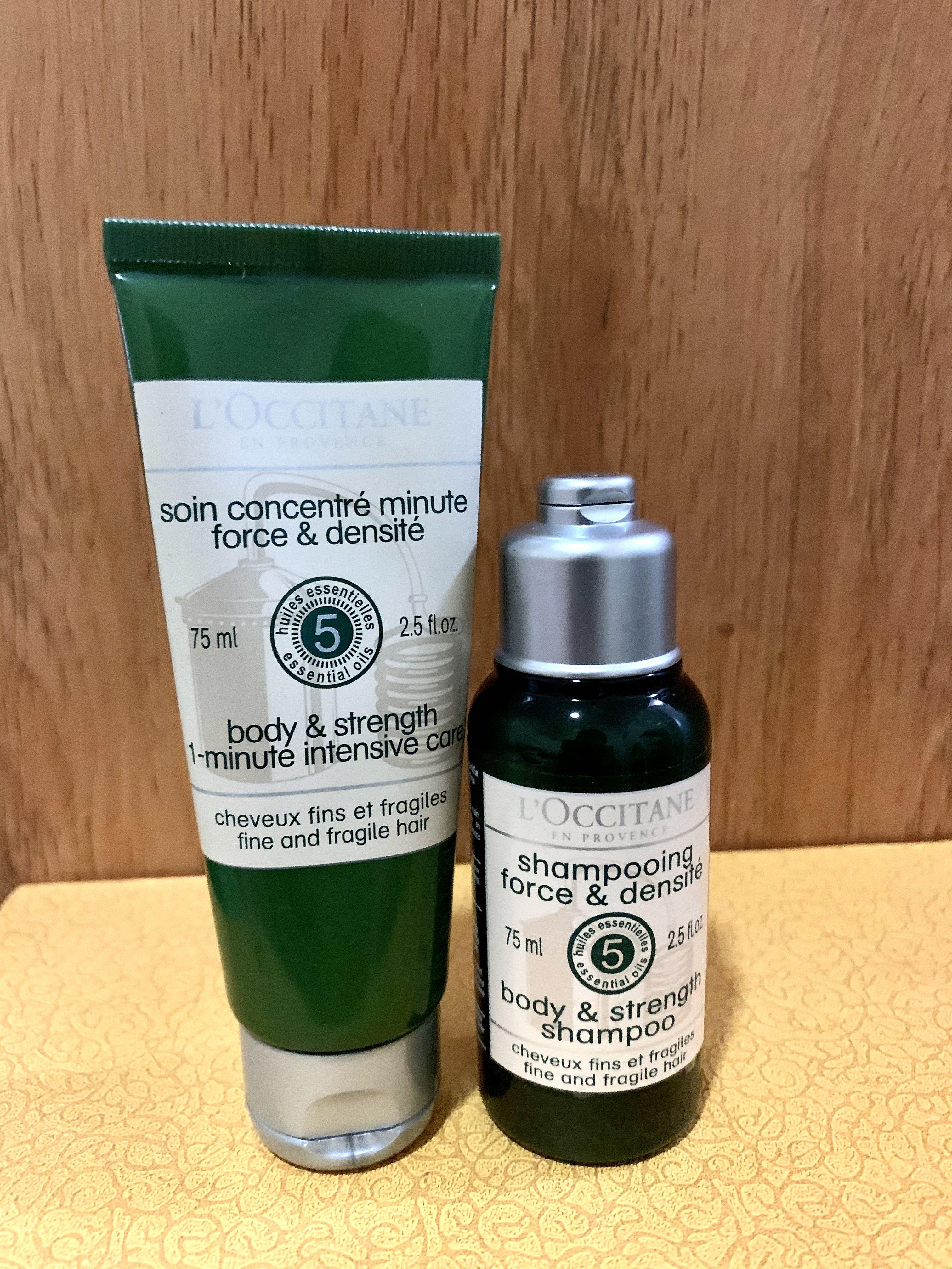 L'Occitane Body and Strength Shampoo