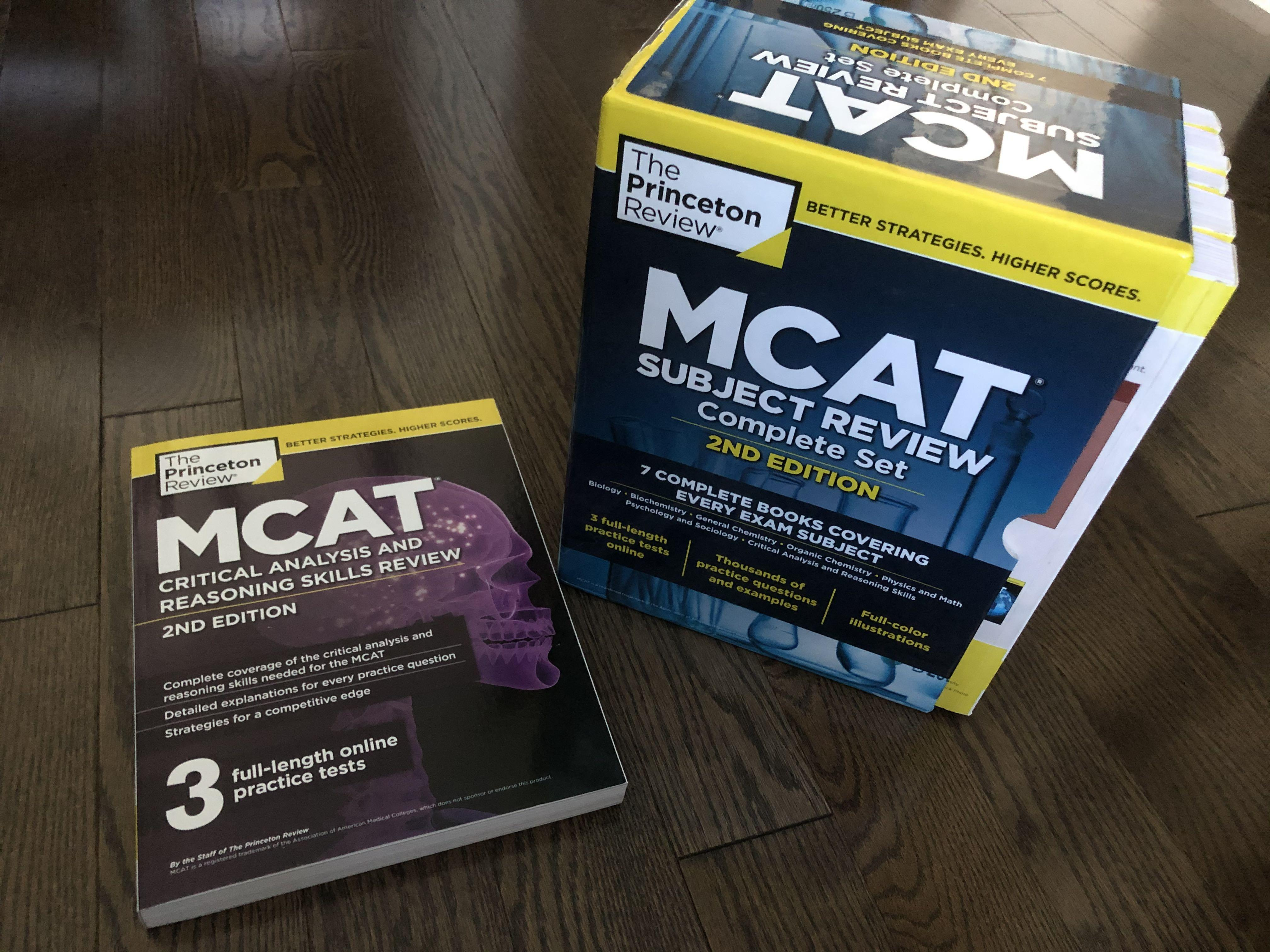 MCAT Princeton Review 2nd edition