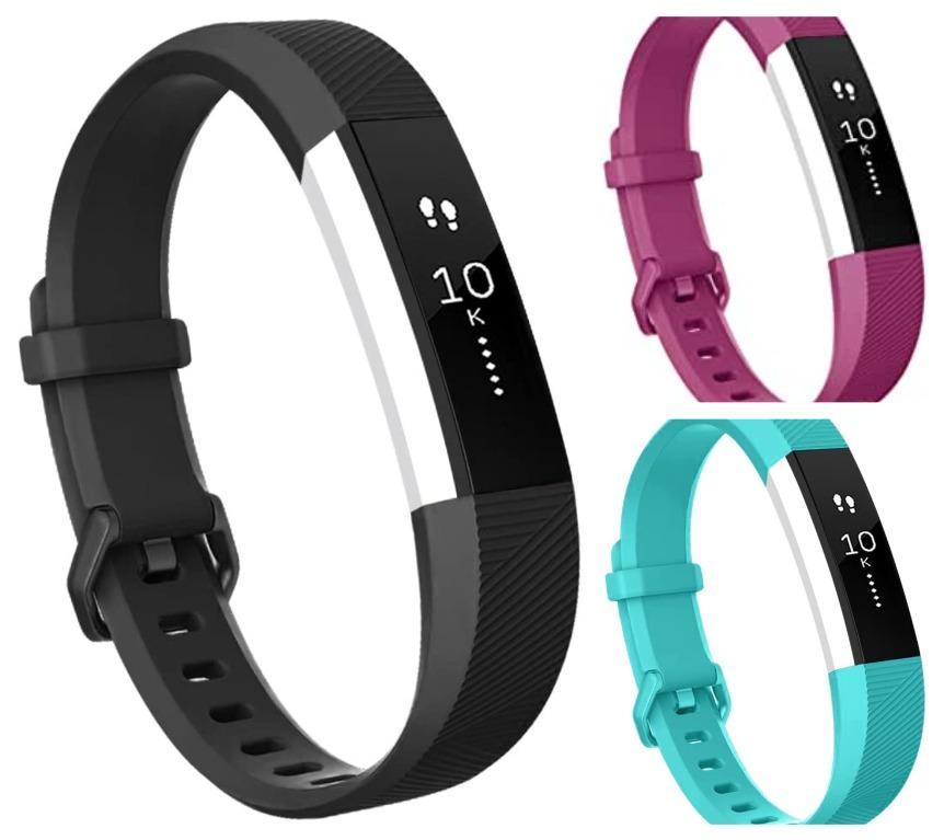 Mixed Fitbit Alta ( Black, Purple)