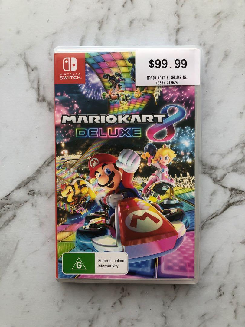 Nintendo Switch Mario Kart Deluxe 8 Game