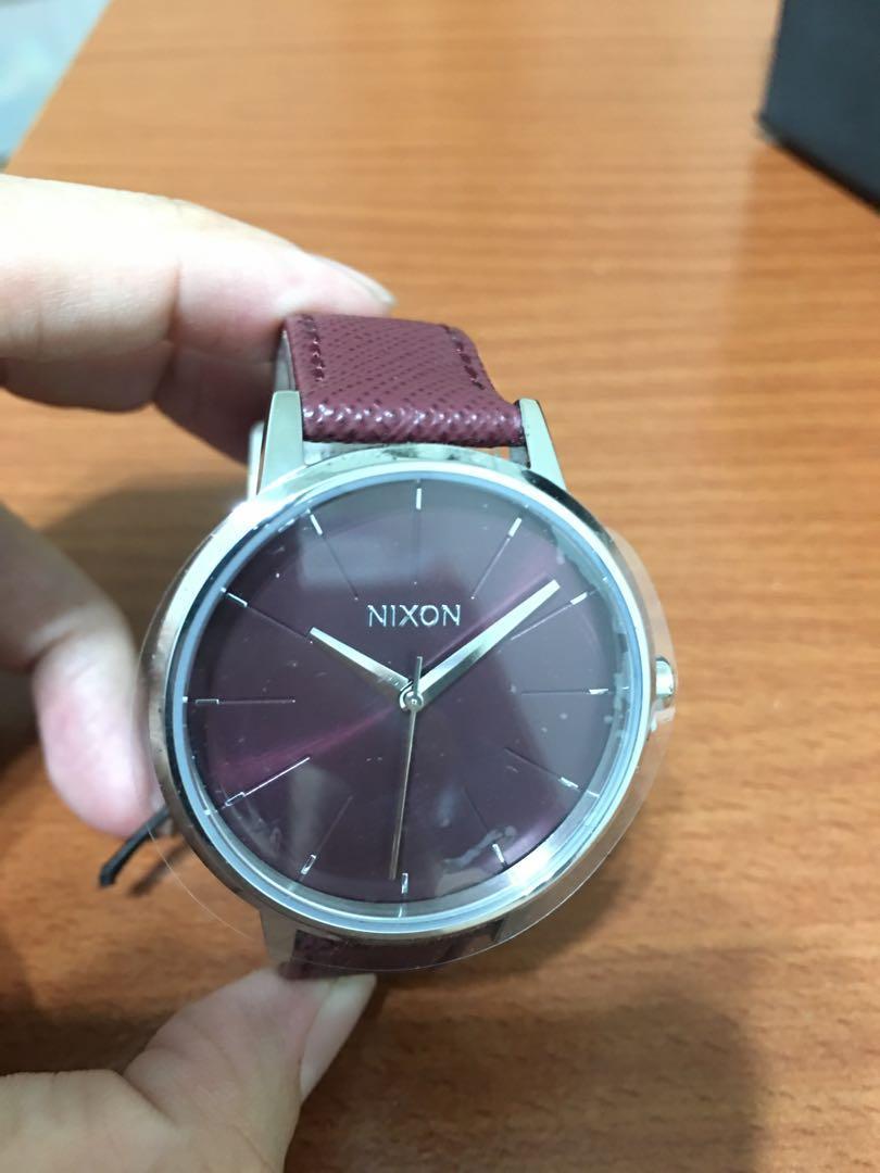 Nixon  女錶 葡萄紫 全新 日本製