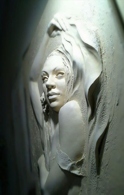 Patung Ukir dinding (drywall art sculpture)