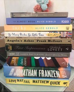 Paubos Bundle Sale (Random Books)