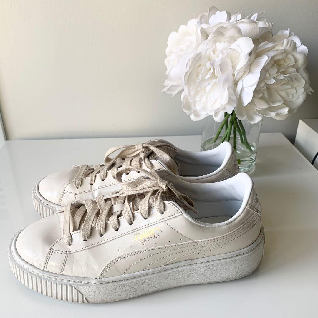 Puma Platform Basket Sneakers