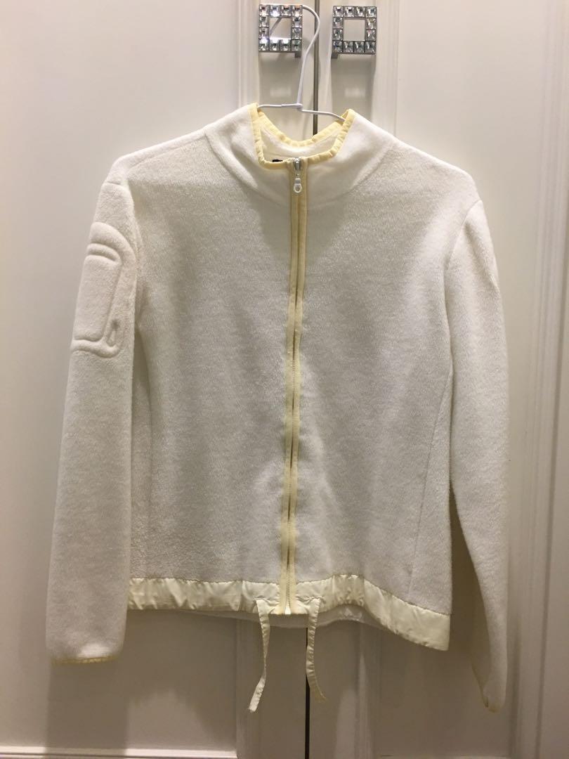 Sisley白色薄外套