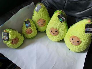 Soft & Fuzzy Authentic Cute Avocado (32cm Big - $16, 22cm Small - $13)