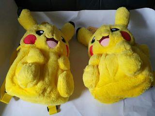 Authentic Super Soft & Furry Pikachu Bag (Each at $25)