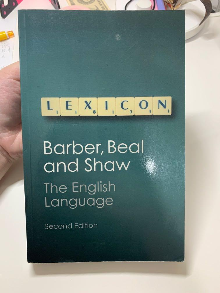 The English Language (second edition)-Barber,Beal and Shaw